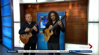 Johannes Linstead Performs Azul On Global Tv