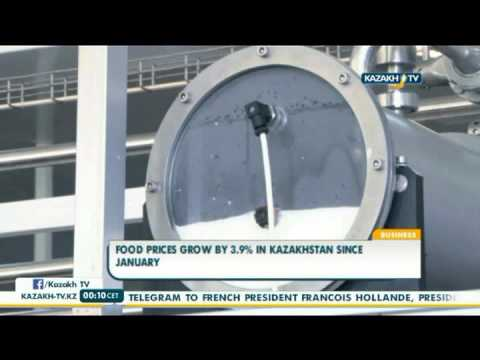 Food prices grow by 3 9% in Kazakhstan since January