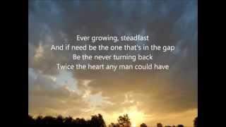 NEEDTOBREATHE - More Heart, Less Attack (lyrics on screen)