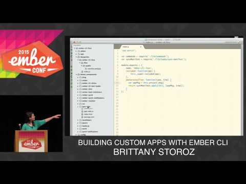 Watch Building Custom Apps with EmberCLIr