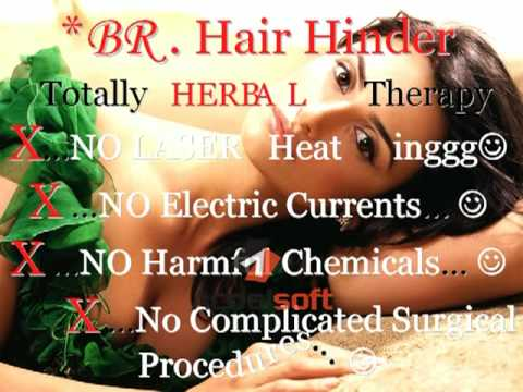 Unwanted Hair - BR. Hair Hinder