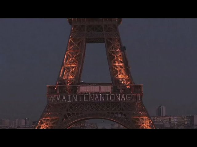 Eiffel Tower lights up with special message on eve of International Women's Day