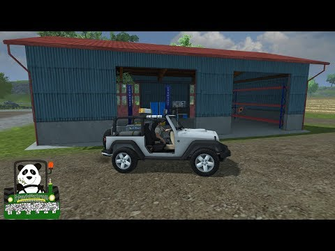 Farming Simulator 2013 Mod Review Vehicle Damage Mod & Service car