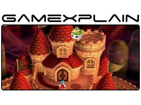 New Super Mario Bros. U: The Final Battle Level Playthrough (World 8 Peach's Castle)