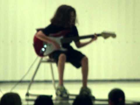 Max on Guitar - Battle Ground Middle School -- 6th Grade Talent Show
