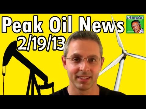 Peak Oil News:  2/19/13