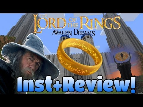 Minecraft The Lord of The Rings [Hobbit] Mod!   Instalacion & Review!
