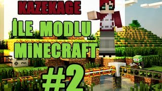Minecraft: Modlu(Buildcraft,ComputerCraft) Survival - Bölüm 2