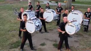 Cavaliers - DCI Finals 2016 - Battery Warmup