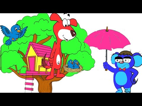 Rat-A-Tat| 'Dog in the Bird House with Color ful Mouse'|Chotoonz Kids Funny Cartoon Videos