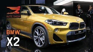 세계 최초 공개! BMW X2, 신형 미니 쿠퍼!...이건 괴상한건가, 예술적인건가? [2018 디트로이트]