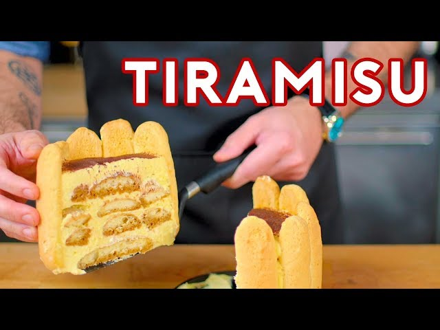 Binging with Babish: Tiramisu from Superbad thumbnail