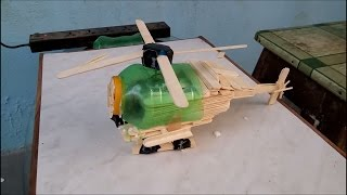 Wow! Amazing Helicopter By Crafty Mihir Built Using Mini Gear Diy Helicopter