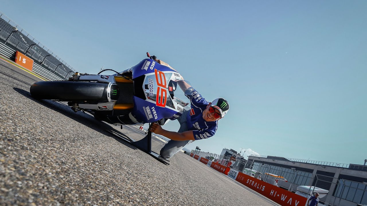 MotoGP™ Lean Angle Experience - YouTube