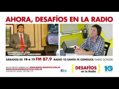 """Entrevista en """"Desafíos en la Radio"""" a Dr Miguel Pedrola desde Hong Kong"""