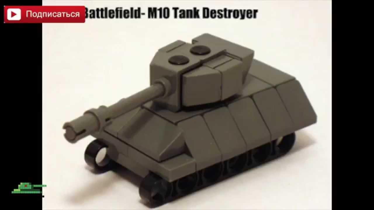 Tank Instructions m 10 Tank Lego Instruction