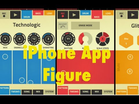 iPhone App Vorstellung - Propellerhead Figure [Deutsch/German] Music Videos