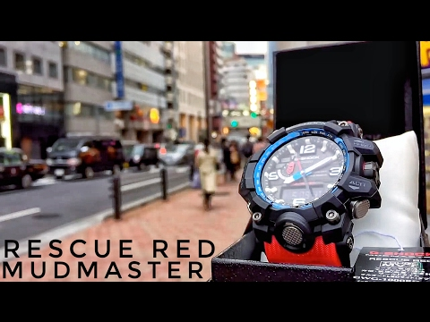 G-Shock MUDMASTER GWG-1000RD-4AJF Rescue Red Master of G (unboxing + review)