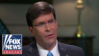 Defense Secretary Mark Esper on his new role at the Pentagon