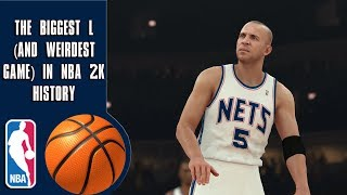 The Biggest L (and weirdest game) In NBA 2K history