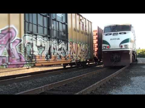 Railfanning Vancouver and Kalama,WA, 9/3/13