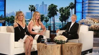 Amy Schumer and Goldie Hawn Spill Behind-the-Scenes Stories
