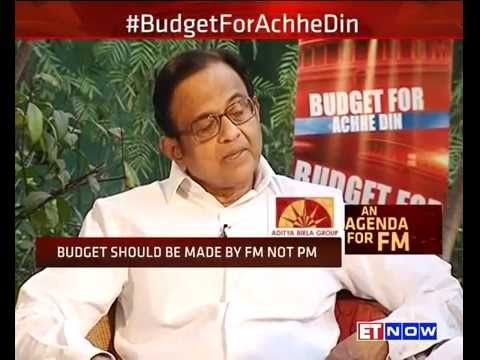 Chidambaram Chalks Out Agenda For Jaitley #BudgetForAchheDin