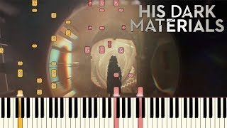 His Dark Materials - Main Theme | Piano Tutorial (Synthesia)