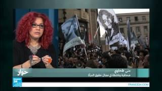 """الصحفية المصرية منى الطحاوي: """"أريد ثورة جنسية في الشرق الأوسط"""""""