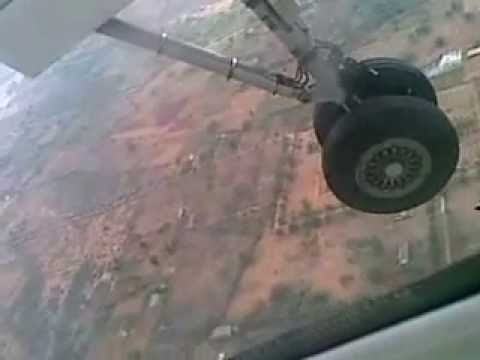 SpiceJet-Landing in Hyderabad RGIA -Almost crashed
