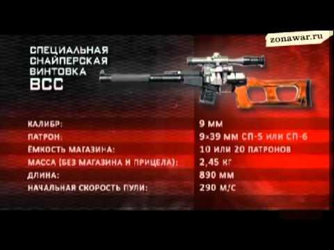 ВСС (винтовка снайперская специальная) Винторез