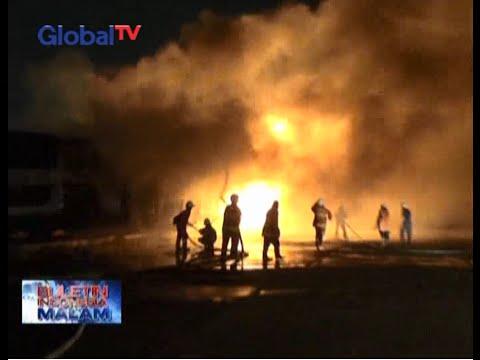 Kebakaran Besar Menimpa Pool Bus Trans Batavia Di Rawa Buaya, Jakarta Barat - BIM 01/09