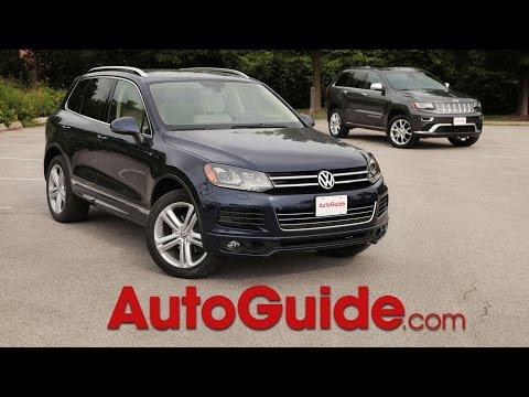 2014 Volkswagen Touareg vs 2014 Jeep Grand Cherokee Eco Diesel