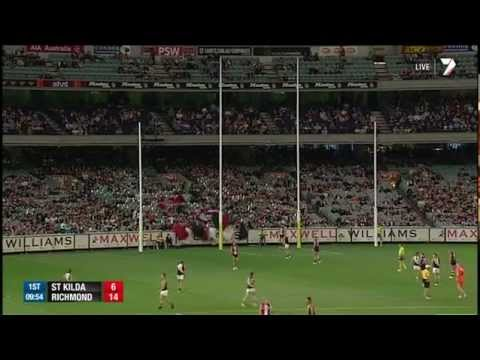 Round 2 AFL - St Kilda v Richmond highlights