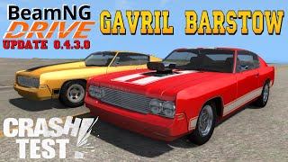 BeamNG DRIVE UPDATE | Gavril Barstow Crash Test