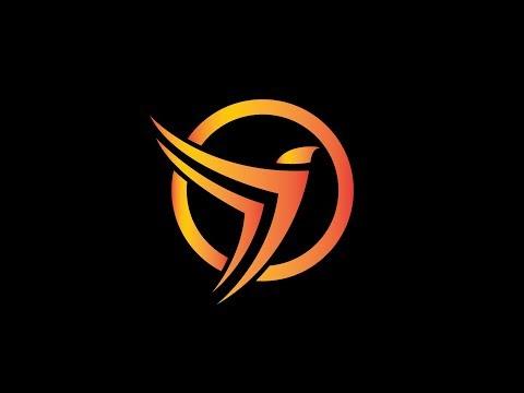 Bird Logo Design Tutorial in Adobe illustrator CC  Circle Logo Design