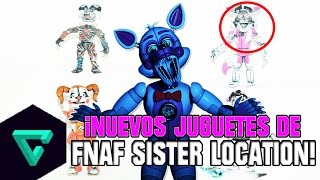 ¡NUEVO JUGUETES DE FIVE NIGHTS AT FREDDY