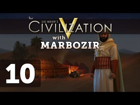 Civilization 5 Brave New World Deity Morocco Let's Play - Part 10
