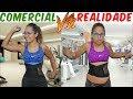 COMERCIAL VS REALIDADE 4 - JULIANA BALTAR