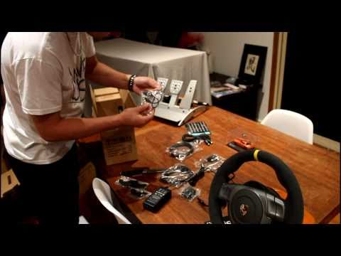 Fanatec Porsche 911 GT3 RS V2 Wheel Unboxing