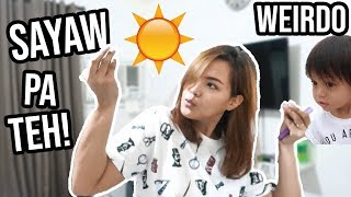 VLOG #69 : GRWM NAG SUN DANCE? + MINI GROCERY - Mommy V