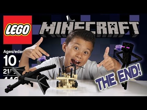 THE END - LEGO Minecraft Set 21107 - Unboxing. Review. Time-Lapse & Stop Motion