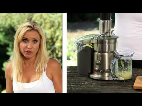 Breville -- Health Full Life:Get Kids to Drink Their Veggies Juice Recipe with fruits and vegetables