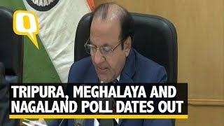 Meghalaya, Tripura, Nagaland Elections in Feb, Results on 3 March