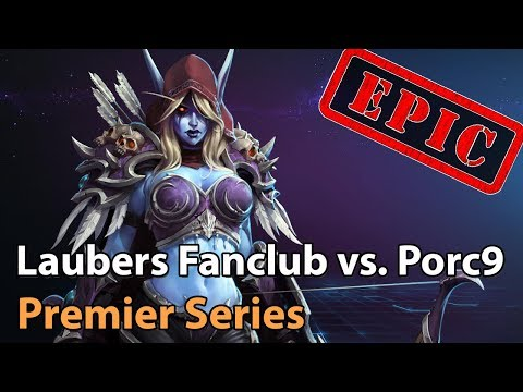 ► EPIC Heroes of the Storm: Laubers Fanclub vs. Porc9 - HeroesHype Premier Series