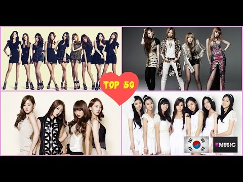TOP 50 K-POP GIRL GROUPS OF 2015