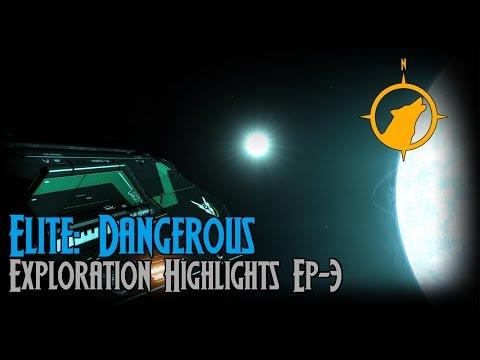 Elite: Dangerous - Exploration Highlights Ep-3 [ASSIST ON]