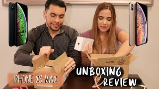 iPHONE XS MAX: UNBOXING & REVIEW (OUR FIRST IMPRESSION)
