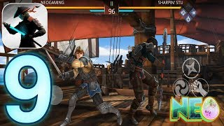 Shadow Fight 3: Gameplay Walkthrough Part 9 - The Captain! (iOS, Android)