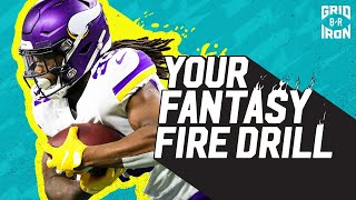 "NFL Week 5 Fantasy Football Advice | ""Your Fantasy Fire Drill"""